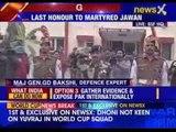 Guard of honour to martyrs jawan Devendra Singh