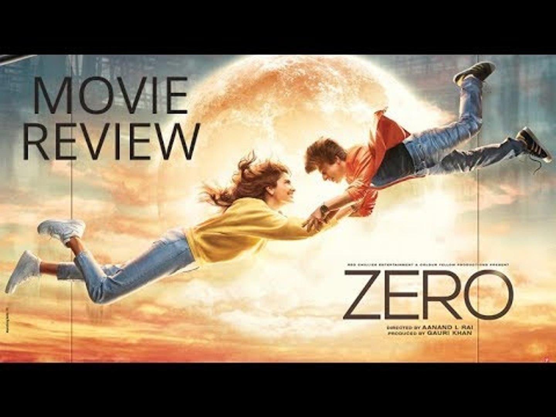 Zero Movie Review; Zero Film Review; Shah Rukh Khan; Anushka Sharma; जीरो फिल्म समीक्षा