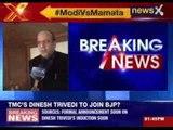 TMC leader  Dinesh Trivedi to join BJP?