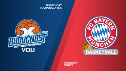 EuroLeague 2018-19 Highlights Regular Season Round 24 video: Buducnost 75-89 Bayern