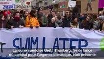 Hambourg: des jeunes marchent pour le climat avec Greta Thunberg