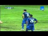 الهدف الاول لفريق سموحة من ضربة جزاء بقدم اللاعب حسام باولو مبارة اتحاد الشرطة vs سموحة