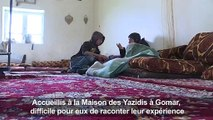 Pour les enfants yazidis rescapés de l'EI, la liberté, la peur et la méfiance