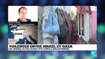 Violences entre Israël et Gaza : au moins 23 palestiniens et 4 israéliens tués