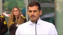 """Casillas: """"Hay que sacar siempre una sonrisa de estos momentos"""""""