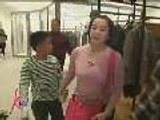Kris goes shopping with Bimby and Darla