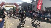 Cyclisme. Arrivée de la 2e étape de l'Essor Breton à Pontivy