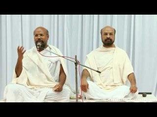 अध्यात्मिक प्रवचन  Part-1 - Shri Lalit Prabhji aur Shri Chandra Prabhji (Rashtra Santh)