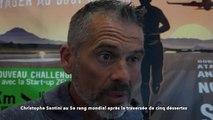 Christophe Santini, au 5e rang mondial après la traversée de cinq déserts  en courant