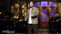 'SNL' Rewind: Adam Sandler Returns For Hosting Debut, Pays Tribute to Chris Farley   THR News
