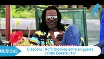 KOFFI OLOMIDE en colère contre les combattants congolais