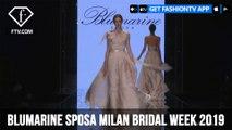 Blumarine Sposa Milan Bridal Week 2019 | FashionTV | FTV