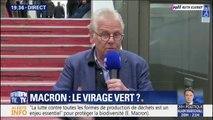 Rapport sur la biodiversité: Daniel Cohn-Bendit défend la prise de parole d'Emmanuel Macron