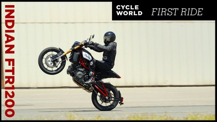 2019 Indian FTR 1200 S | First Ride Review