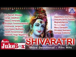 Shivaratri - Shiva Devotional Film Hits | Kannada Bhaktigeethegalu | Akash Audio