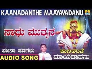 ಸಾಧು ಮುತ್ಯನ | Kaanadanthe Maayavadanu | North Karnataka Bhajana Padagalu | Jhankar Music