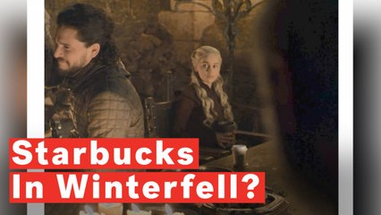 Starbucks In Winterfell? Fans Spot Popular Coffee Cup In 'Game Of Thrones' Scene