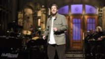 Adam Sandler Reveals He Wasn't Fully Prepared for Emotional Chris Farley Tribute on 'SNL' | THR News