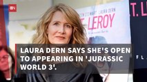 Laura Dern Could Be In Jurassic World 3