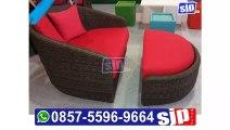0857-5596-9664, Kursi Santai Rotan Minimalis, Kursi Santai Rotan Sofa, Kursi Santai Rotan Pantai