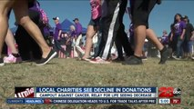 Local Charities See Decline in Donations