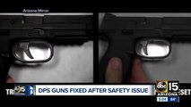 DPS guns fixed after safety issue