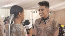 James Charles on Going Outside His Comfort Zone for the Met Gala