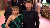 Right Now: Miley Cyrus and Liam Hemsworth Met Gala Red Carpet 2019