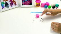 Yes Papa Smurf And Princess Poppy From Play-Doh | Play Doh Crafts | Trolls fll mvie  Crafty Kids