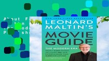 About For Books  Leonard Maltin s Movie Guide: The Modern Era, Previously Published as Leonard
