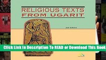 Religious Texts from Ugarit: 2nd Edition