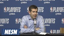 Brad Stevens On Kyrie Irving's Shooting Struggles