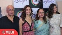 Yours Truly Special Screening   Alia Bhatt, Soni Razdan, Mahesh Bhatt   ZEE5   Complete VIDEO