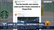 Un gobelet Starbucks oublié dans l'épisode 4 de Game of Thrones, les fans s'emballent
