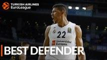 2018-19 Turkish Airlines EuroLeague Best Defender: Walter Tavares, Real Madrid