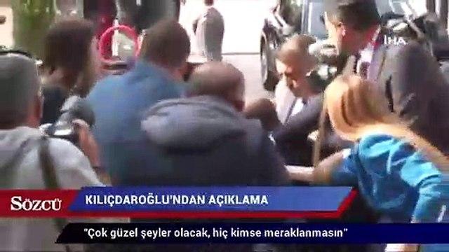 """CHP lideri Kemal Kılıçdaroğlu: """"Çok güzel şeyler olacak, hiç kimse meraklanmasın"""""""