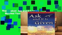 Best product  Ask and It Is Given: Learning to Manifest Your Desires - Esther Hicks
