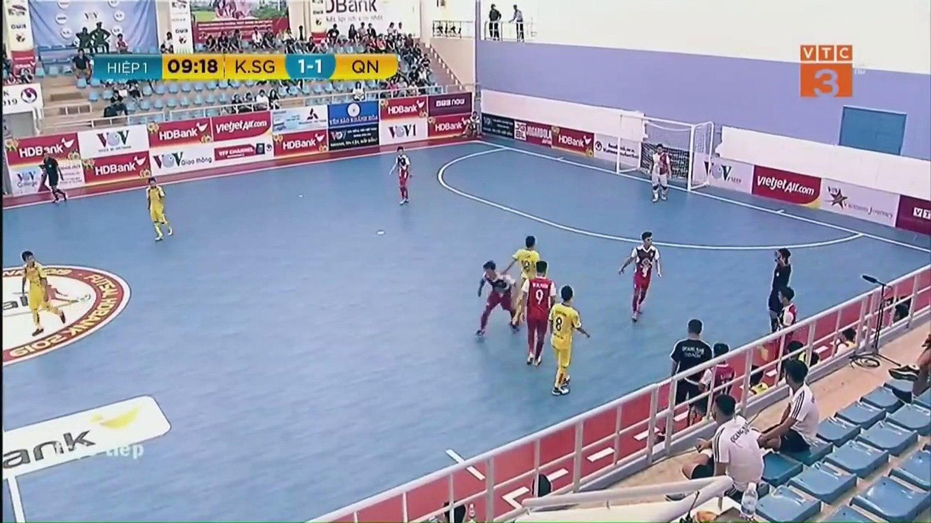 Trực Tiếp | Kardichain Sai Gon FC - Quảng Nam |VCK VĐQG FUTSAL HD BANK 2019| VFF Channel