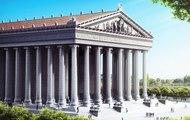Así sería el Templo de Artemisa en Éfeso  si no se hubiera destruido