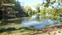 QUERCY - proche Penne d'Agenais - Maison de Maitre, terrain et maison des amis