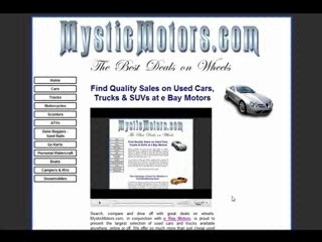 Used Pickup Trucks For Sale At Ebay Motors Video Dailymotion