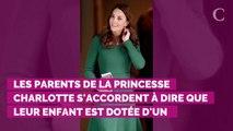 """La princesse Charlotte est une enfant """"bien élevée"""" mais """"un peu bavarde"""""""