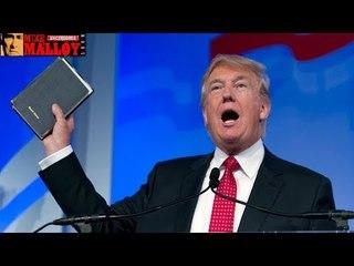 Trump Celebrates Efforts to Put Bible Studies Back in Schools