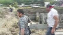 İstanbul- Beylikdüzü'nde Toprak Altında Kalan İşçi Kurtarıldı