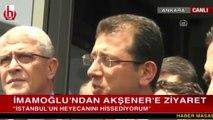 Ekrem İmamoğlu Meral Akşener'le görüşmesi sonucu açıklama yaptı