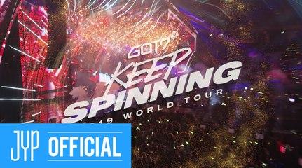 GOT7 2019 WORLD TOUR 'KEEP SPINNING' TRAILER