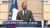 """""""Plus de 4 millions de foyers touchent la prime d'activité"""" Édouard Philippe fait le bilan des mesures d'urgences"""