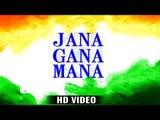 Jana Gana Mana - National Anthem (HD VIDEO) - Best Indian Patriotic Song - Arya Nandini - Ravi Raj