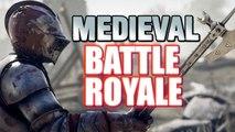 MEDIEVAL BATTLE ROYALE - Mordhau Gameplay | First Medieval Win| video game