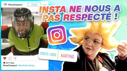 INSTAGRAM CONTRÔLE NOTRE VIDÉO ! avec JusteJo et Lola Dubini